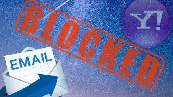 Identify Blocking Email in Yahoo