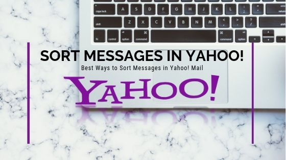Sort Messages in Yahoo!