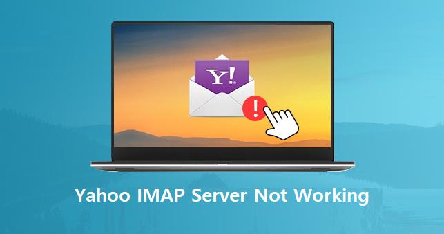 yahoo imap not working