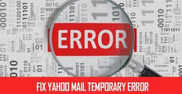 Yahoo temp error 14
