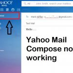 yahoo mail compose not working